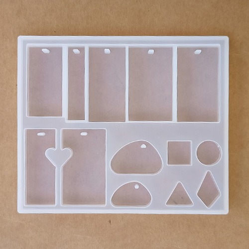 Silicone Moulds - Assorted #5 - Jewellery - Pack of 1