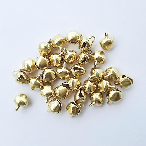 Jingle Bells #5 - 10mm - Golden - Pack of 30