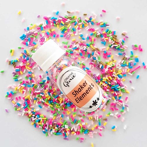 Shaker Slices - Colorful Confetti - 15gms