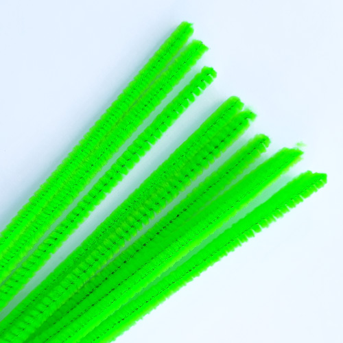 Pipe Cleaners - Green - Pack of 10