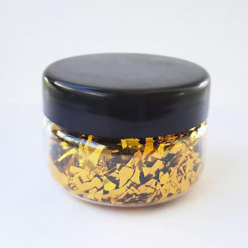 Glitter Flakes - Golden - 10gms