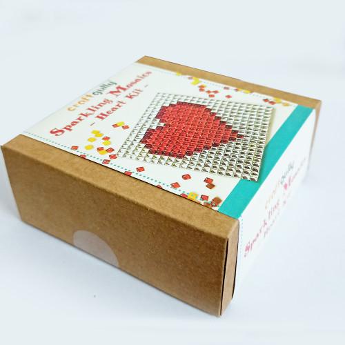 Sparkling Mosaic Kits - Heart