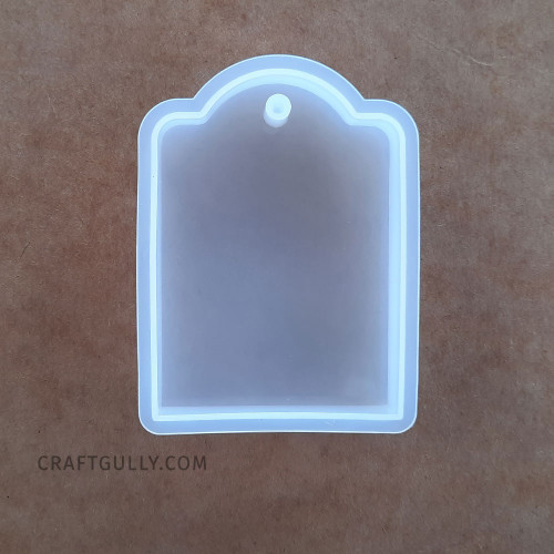 Silicone Moulds #14 - Tag - Pack of 1