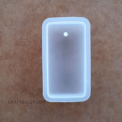 Silicone Moulds #16 - Hanging Rectangle - Pack of 1