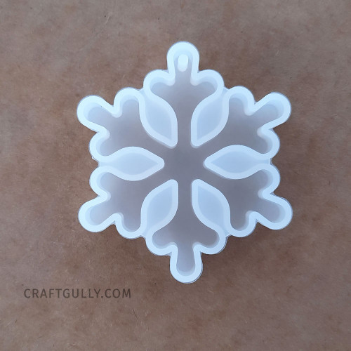 Silicone Moulds #17 - Hanging Snowflake - Pack of 1