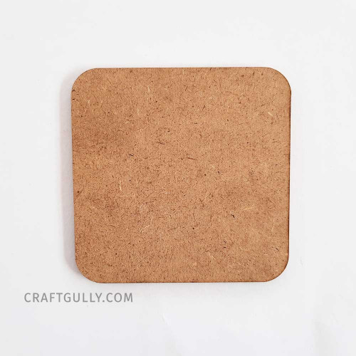 MDF Shapes #5 - 84mm Square - Pack of 1