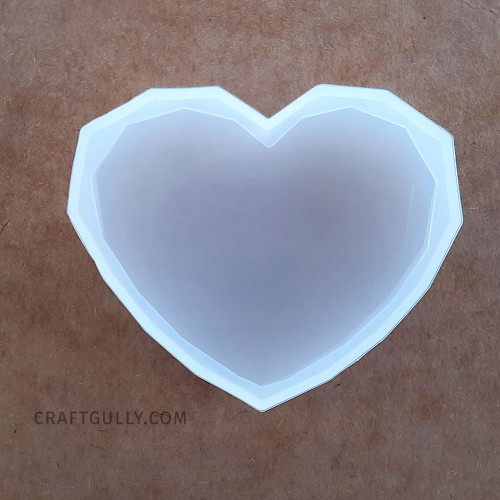 Silicone Moulds #20 - Heart - Pack of 1