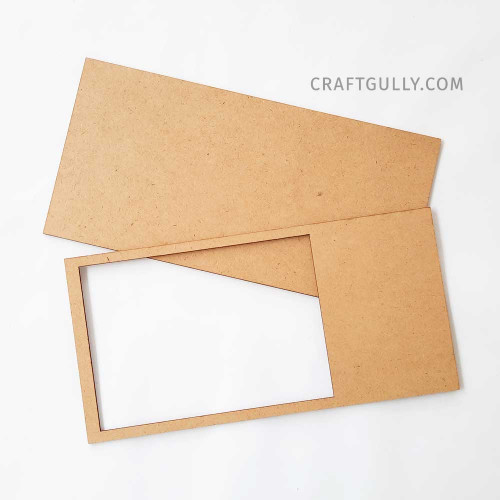 MDF Frames #1 - Rectangle 10 inches - Set of 2
