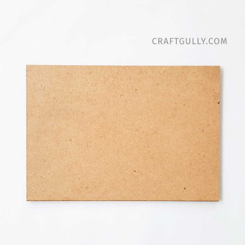 MDF Shapes #6 - Rectangle 6.25 inches - Pack of 1