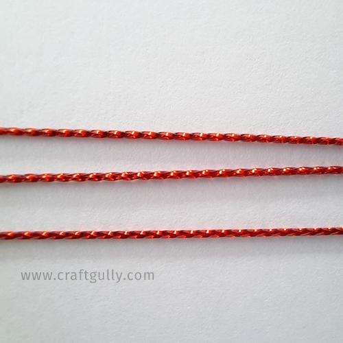 Designer Strings #1 - Red 1mm - 1 Meter