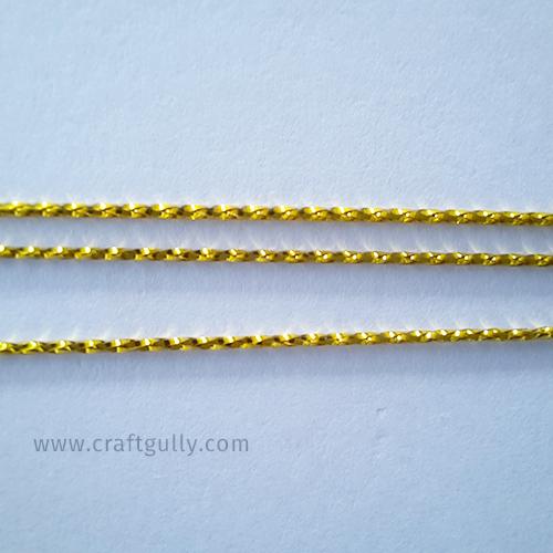 Designer Strings #2 - Old Gold 1mm - 1 Meter