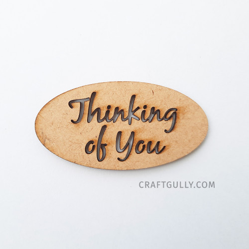 MDF Sentiments #18 - Thinking Of You