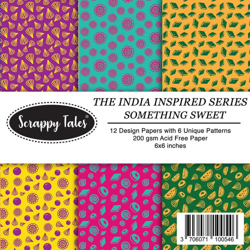Pattern Papers 6x6 - Something Sweet - Pack of 12