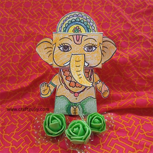 Paper Toy Kit - 3D Ganesha