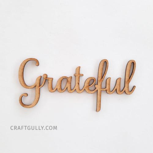MDF Sentiments #20 - Grateful