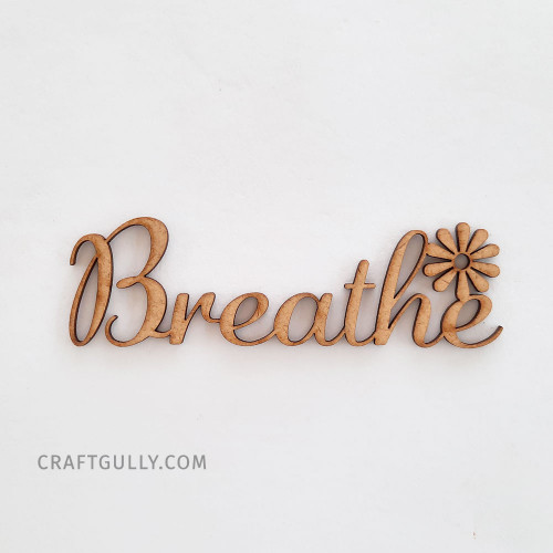 MDF Sentiments #24 - Breathe