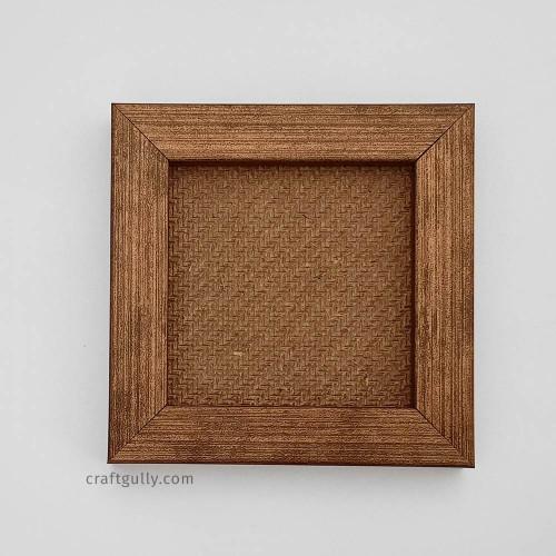 Photo Frame #1 - 4x4 inches - Metallic Dual Bronze