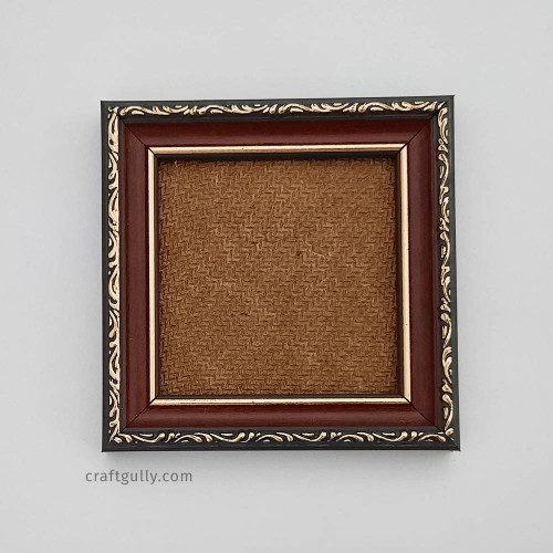 Photo Frame #2 - 4x4 inches - Red & Black