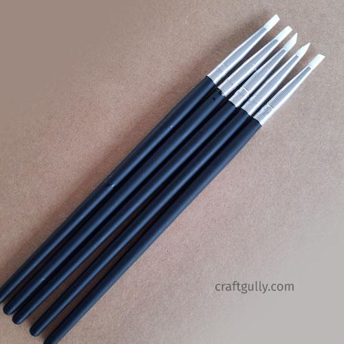 Silicone Brushes #1 - Set of 5