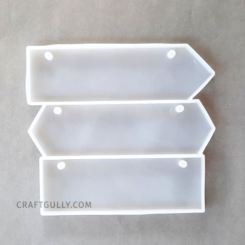 Silicone Moulds #35 - Name Plate - Pack of 1