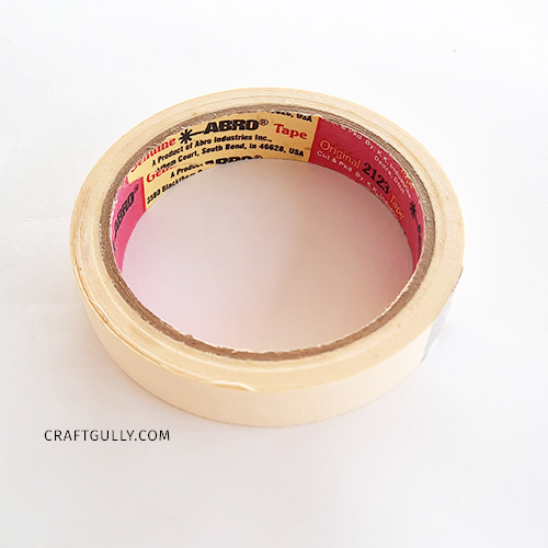 Masking Tape 0.75 inch - Pack of 1
