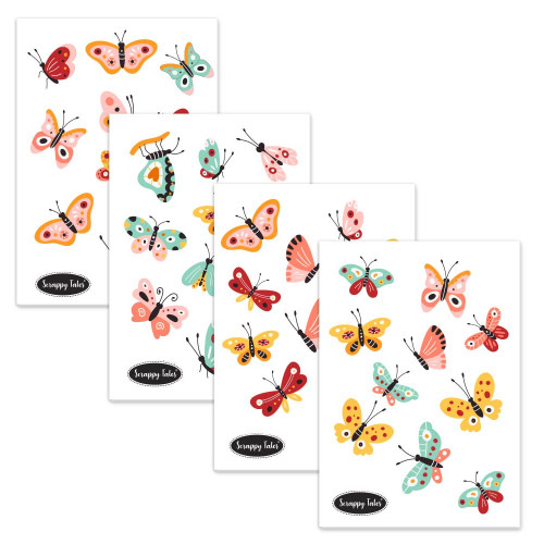 Paper Elements A5 - Pretty Wings - 4 sheets