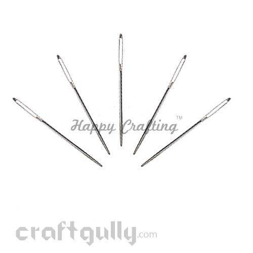 Needles - Tapestry No 19 - 60mm - Pack of 5