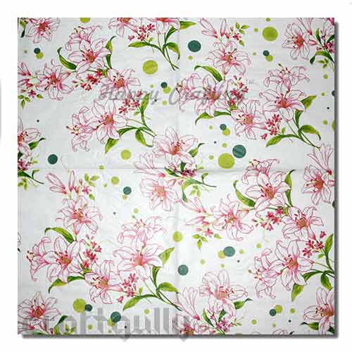 Decoupage Napkins #2 - 2 Ply - Pack of 1