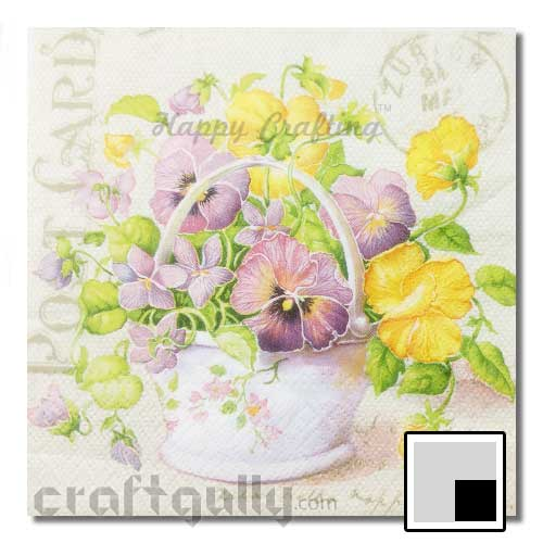 Decoupage Napkins #69 - Pack of 1