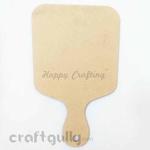 MDF Blank Chopping Board #2 - 8 inches - Natural