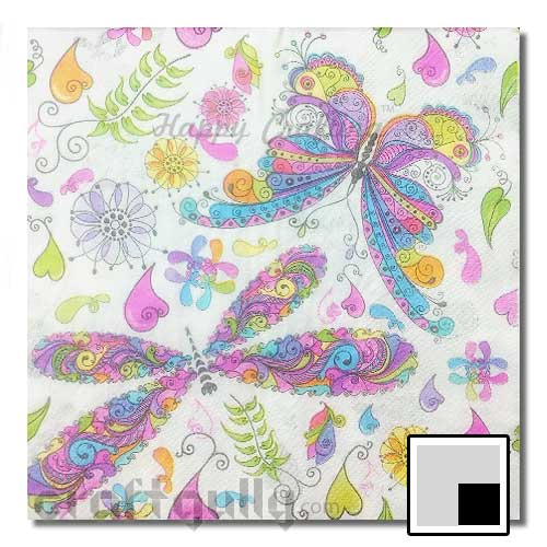 Decoupage Napkins #101 - 2 Ply - Pack of 1