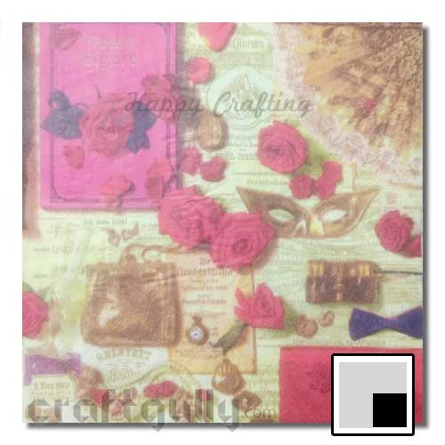 Decoupage Napkins #103 - 2 Ply - Pack of 1