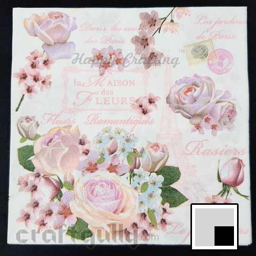 Decoupage Napkins #115 - 2 Ply - Pack of 1