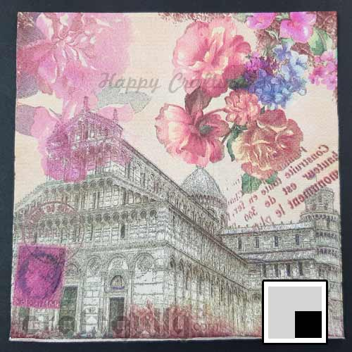 Decoupage Napkins #116 - 2 Ply - Pack of 1