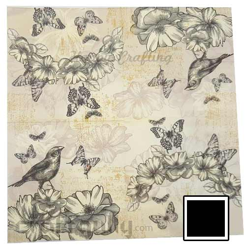 Decoupage Napkins #129 - 2 Ply - Pack of 1