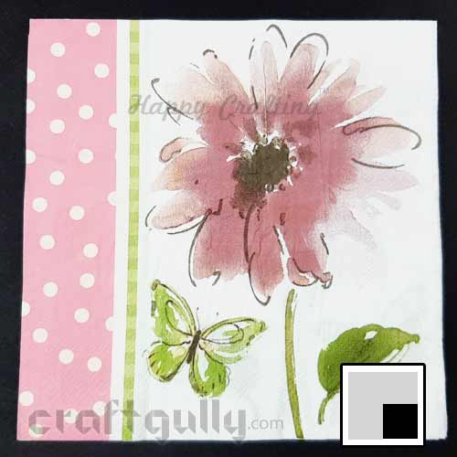 Decoupage Napkins #143 - 2 Ply - Pack of 1