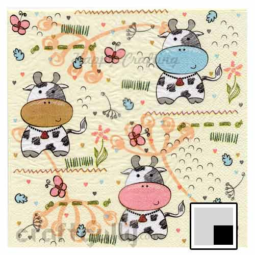 Decoupage Napkins #157 - 2 Ply - Pack of 1