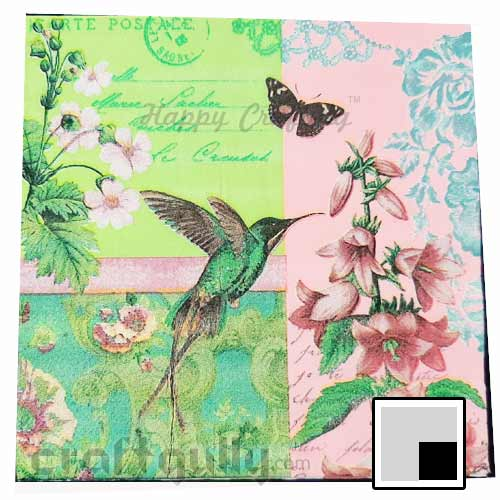 Decoupage Napkins #161 - 2 Ply - Pack of 1