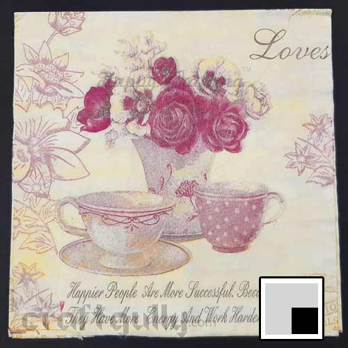 Decoupage Napkins #167 - 2 Ply - Pack of 1