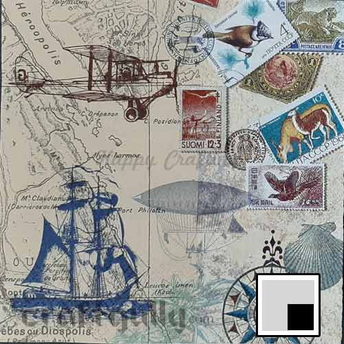 Decoupage Napkins #178 - 3 Ply - Pack of 1