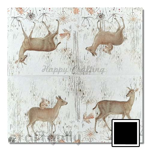 Decoupage Napkins #198 - 2 Ply - Pack of 1