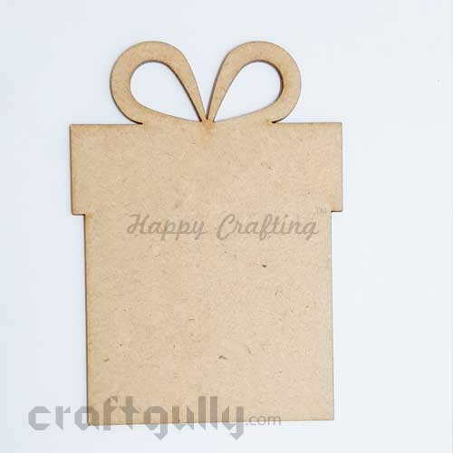 MDF Blank Designer Shapes 100mm - Gift - Pack of 1