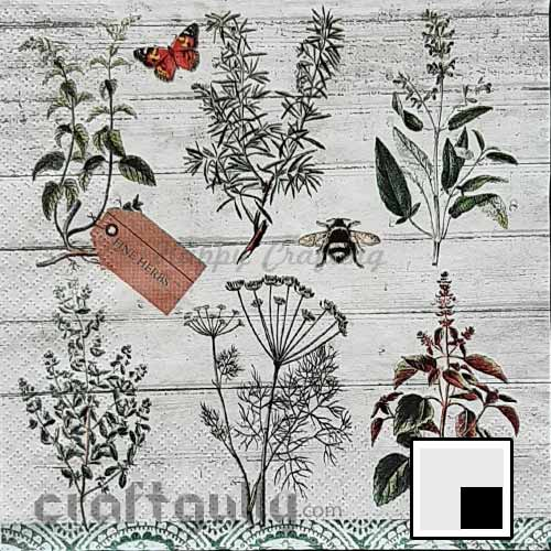 Decoupage Napkins #217 - 3 Ply - Pack of 1