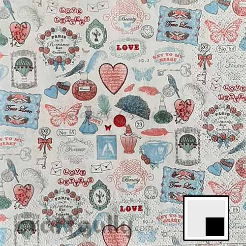 Decoupage Napkins #228 - 3 Ply - Pack of 1