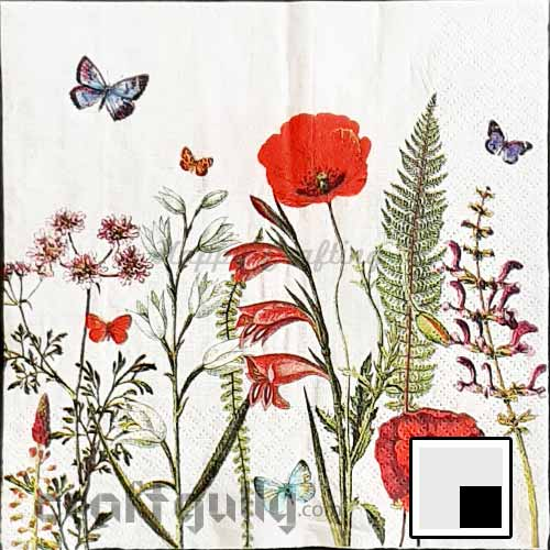 Decoupage Napkins #229 - 3 Ply - Pack of 1