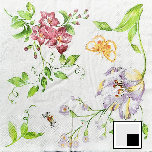 Decoupage Napkins #238 - 2 Ply - Pack of 1