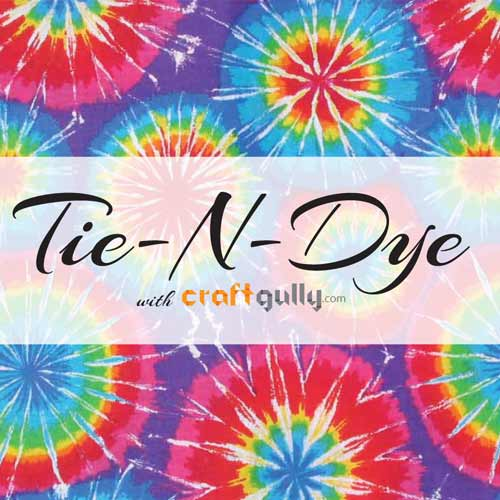 Free eBook - Tie-N-Dye With CraftGully