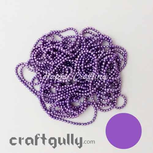 Ball Chain 1mm - Lilac - 9 Feet