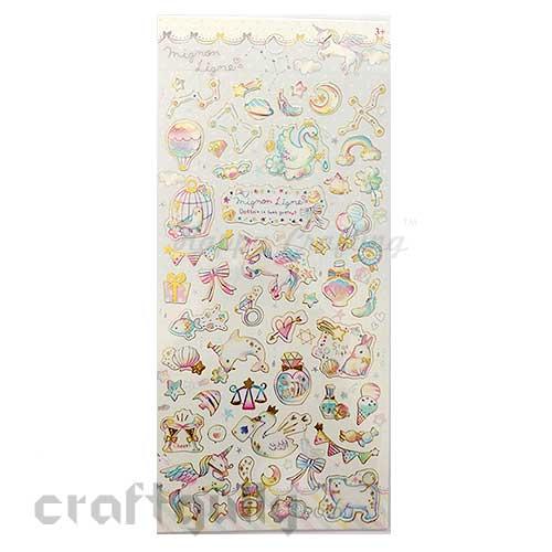 Gilded Stickers #5  - Mignon Ligne