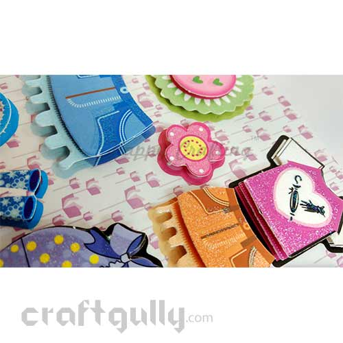 3D Paper Stickers #15